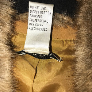 Justin Taylor Jackets & Coats - Classy Jacket with Faux Fur Collar & Cuffs